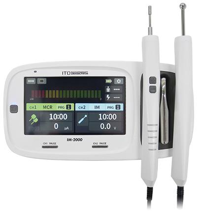 治療点検索測定機能を搭載した低周波治療器 イトー IM-2000